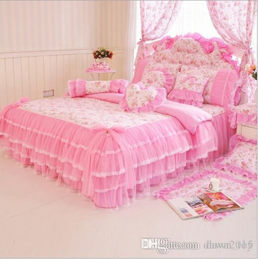 Luxury Lace Bedding Sets Duvet Cover Sets Girls Bedding Childrens