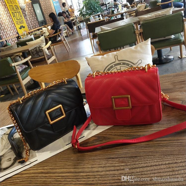 2018 повседневная мода женщина сумка Сумка леди сумка небольшой мини Антиржавейный металл мобильный телефон сумка креста тела сумки на ремне высокое качество PU A9586