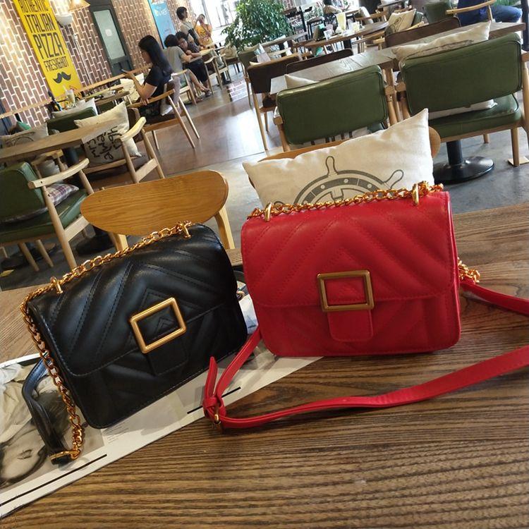 2018 Mode décontractée femme sac sac à main lady sac petit Mini Antirust métal téléphone portable sac Cross Body épaule sacs de haute qualité PU A9586