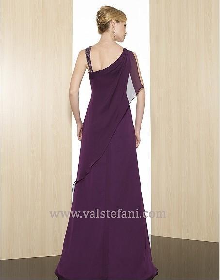 free shipping 2018 new arrival maxi women's design vestido de festa gala colorful long purple elegant party gown evening dress