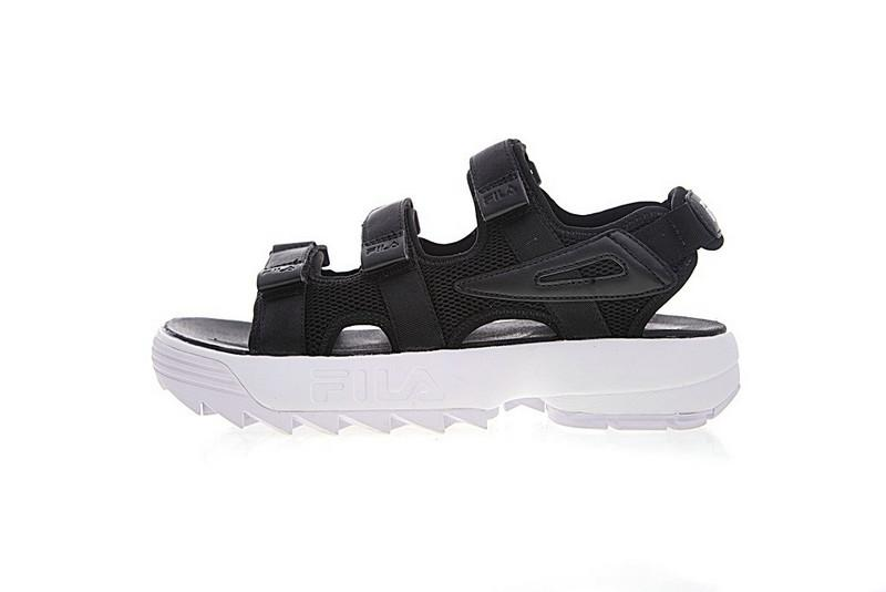 2019 FILA Original Disruptor2 Outdoor Sandals Black White Summer New Market Trend Style Street Movements Discount Sneakers Size 35 44 From Journeys,