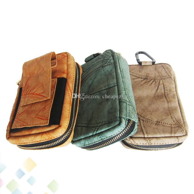 Style Carrying Case E Cig Accessories Vapor Pocket Carry Bag Vaping Case 3 Colors For RDA RTA RBA Mech Box Mods DHL Free