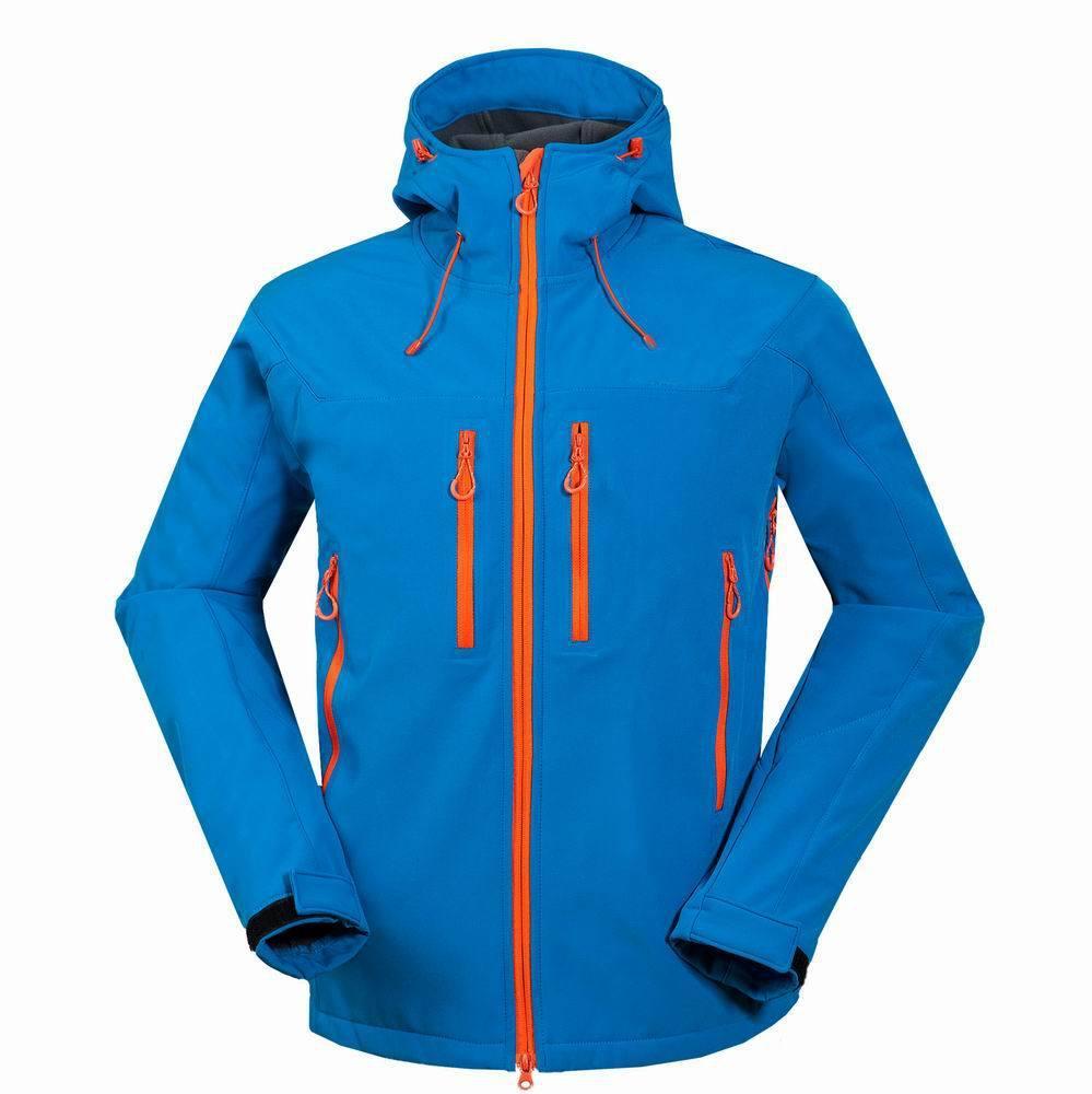 Veste de ski à vent de plein air pour hommes vestes de ski à vent neige étanche randonnée pédestres hommes de randonnée de randonnée camping softshell veste extérieure