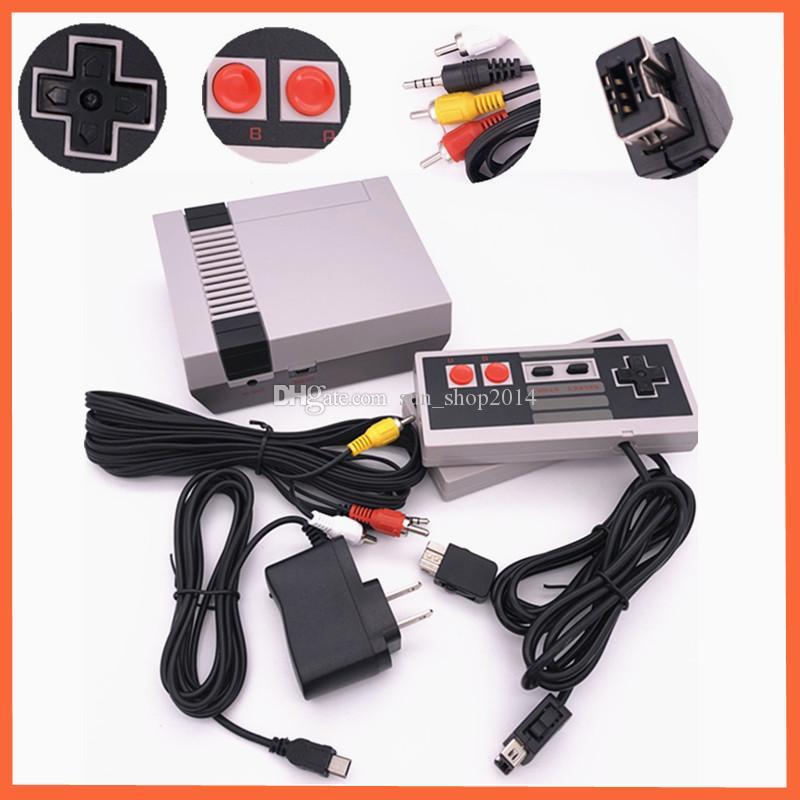 Fabrika satış Mini TV perakende kutusu ile NES oyun konsolları için 500 Oyun Konsolu video Handheld'i saklayabilir