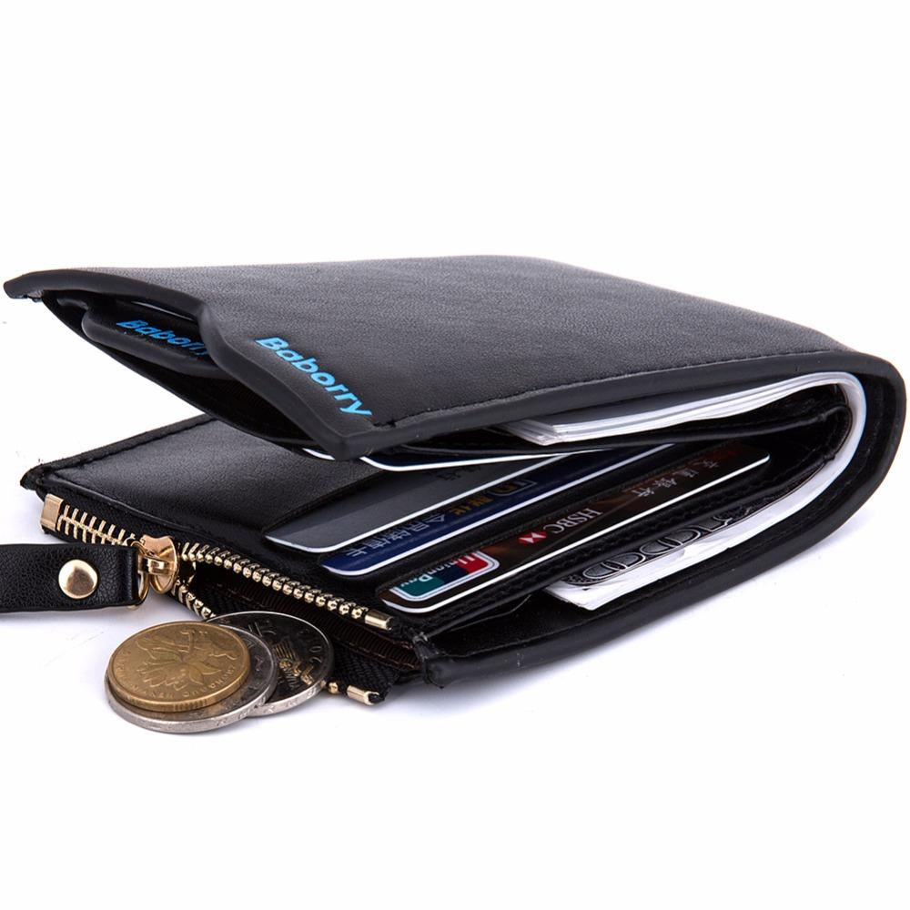 new 2016 men wallets Coin purse mens wallet male money purses Soft Card Case New classic soild pattern designer wallet 385-5