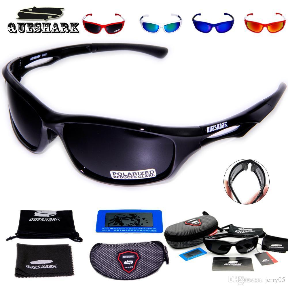 Queshark TR90 Uv400 Professionelle Polarisierte Radfahren Sonnenbrillen Fahrradbrillen Angeln Ski Brille Sport Fahrrad Sonnenbrillen Brillen