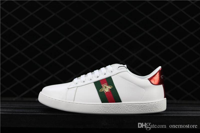 2ce3e6ad9 2018 Hot Bees Primeknit Men Women⠀gucci Running Shoes Og Classic Triple  Black White Beige Oreo Athletics Sports Trainer Sneakers 36 44 Women Shoes  Mens ...