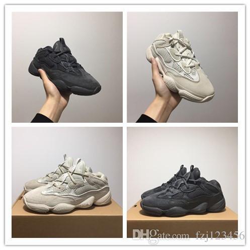 ŞANSLı 500 700 Allık Çöl Sıçan 500 Süper Ay Sarı koşu ayakkabıları 500 Programı Siyah sneaker spor ayakkabı ücretsiz kargo
