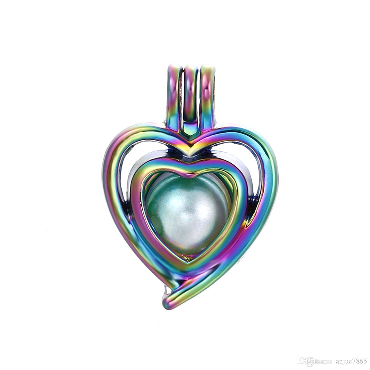 Charm Alloy Unicorn Heart Pendant DIY Necklace Jewelry Making Gift 1pc//10pcs