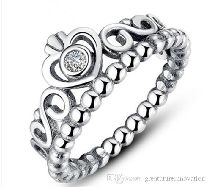 anello pandora corona tiara