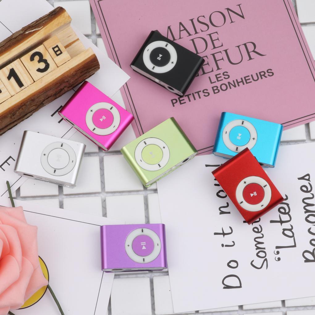 Portable Mini Clip MP3 Player Sport Walkman Mp3 Music Player with TF Slot Jack Nice Sound Gift