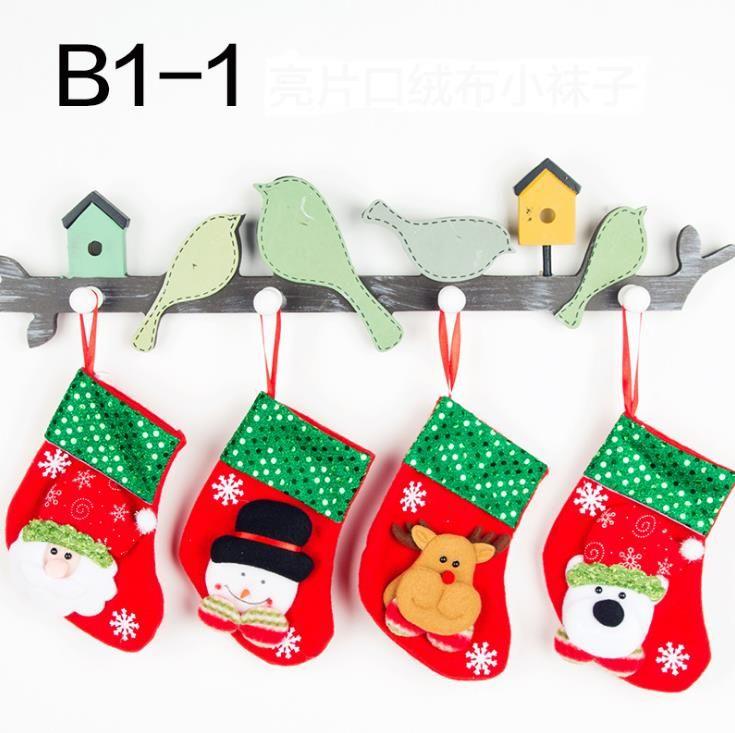 Immagini Di Natale Per Bambini Colorate.Acquista Regali Natalizi I Bambini Calze Di Natale Calzini Forcelle Borse Carine Caramelle Colorate Calze Ornamenti Alberi Di Natale Decorazioni