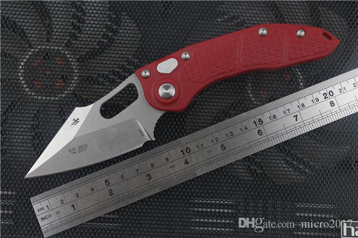automatische Messer Custom Stitch Klappmesser CTS-XHP D2 Klinge Nylon Glasfaser Griff Tactical Survival Camping Taschenmesser