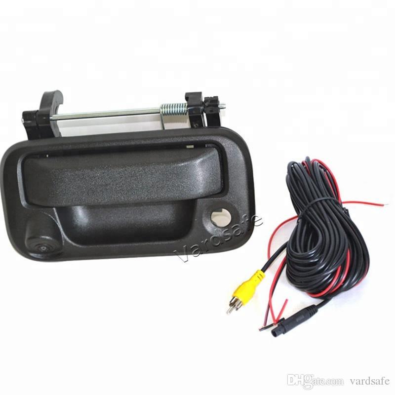 Vardsafe VS150   자동차 뒷문 손잡이 Ford F150 용 후면보기 역방향 백업 카메라 (2005-2014)   RCA 커넥터