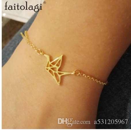 bracelet femme origami