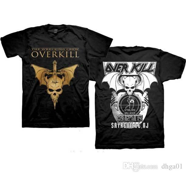 estilo único acogedor fresco mayor descuento OVERKILL The Wrecking Crew T Shirt Hacer Camisetas Online Baratas T Shirt T  Shirts From Dhga01, $12.7| DHgate.Com