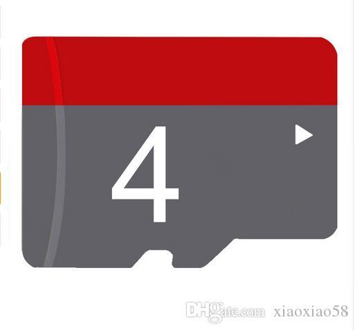 주문 로고 4GB 마이크로 SD 카드 TF 기억 카드 종류 10/6 4G 저속한 마이크로 SD SDHC 카드 100pcs
