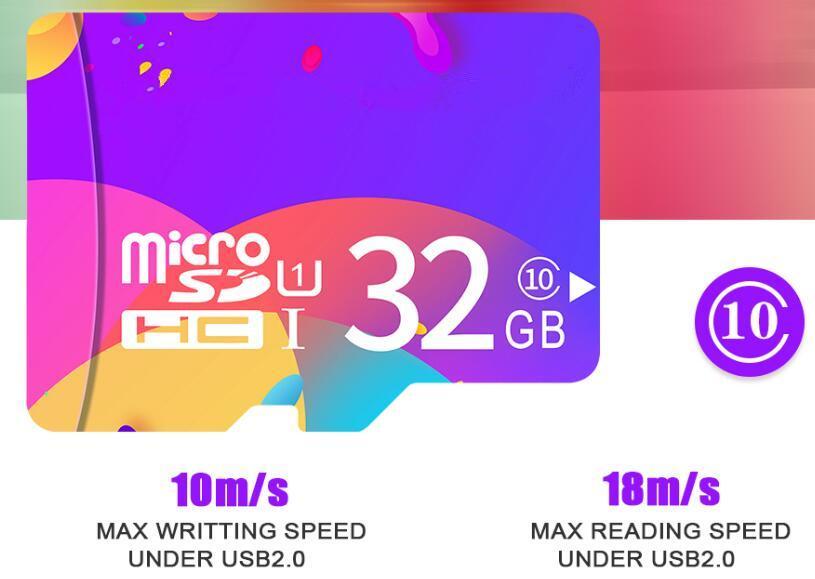 마이크로 SD 카드 메모리 카드 32 기가 바이트 MicroSD 32GB 최대 18M / s Uitra C10 TF 카드 32G 카타오 드 memoria