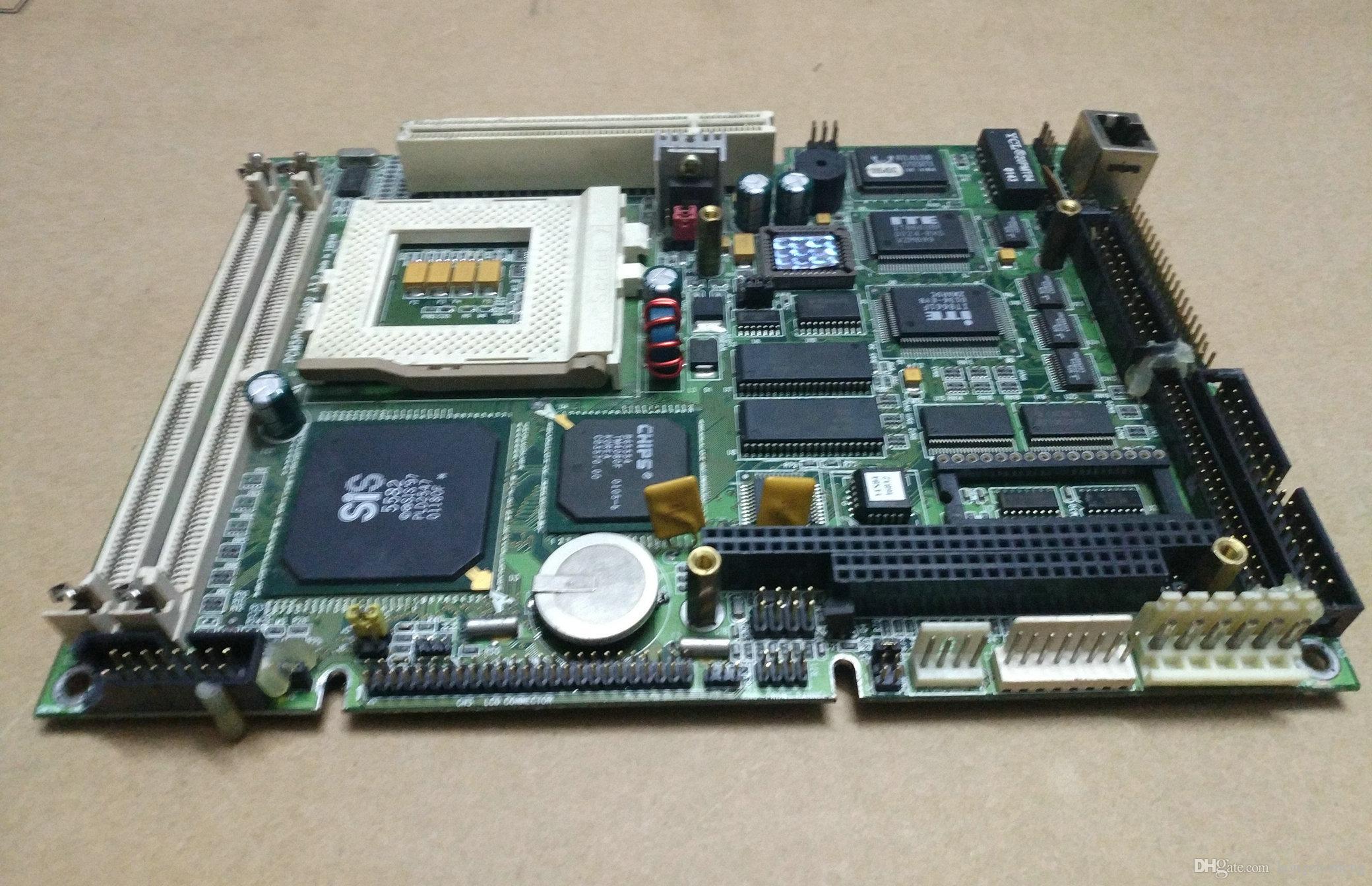 Оригинальный PCM-5894/5892 A3.Доска промышленной системы 2 используемая в хорошем состоянии