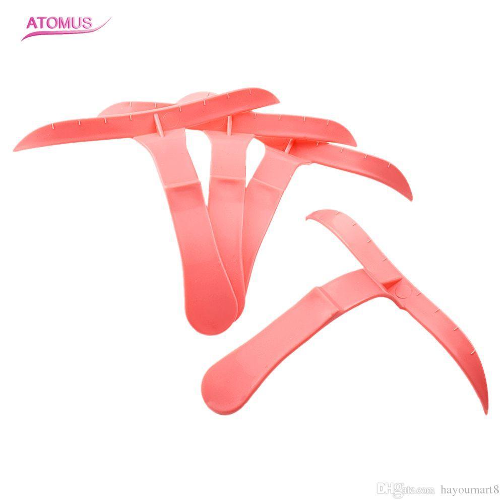 4 قطعة / المجموعة الوردي الوشم microblading الحواجب المشكل قالب الاستنسل الحواجب الحاجب الاستنسل كيت قالب ماكياج تشكيل أداة