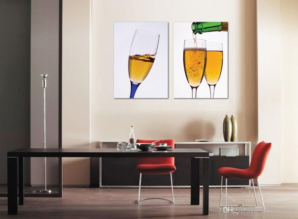 Canvas Wall Art Kitchen Wall Art Wall Panels Kitchen Canvas Painting For  Dining Room Wine Painting Sports Wall Stickers Star Stickers For Walls From  ...