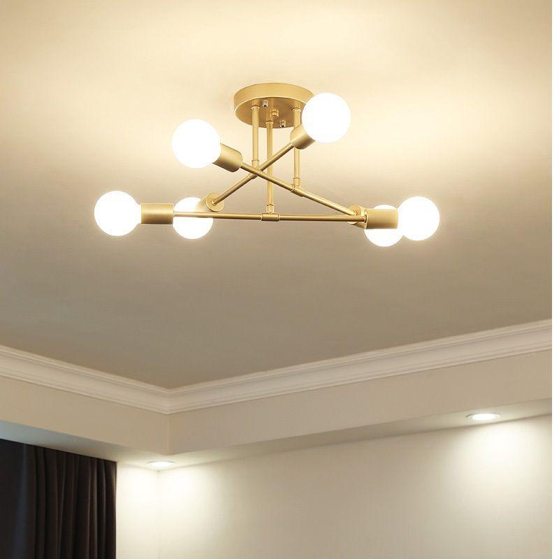 Современные светодиодные потолочные люстры Освещение гостиной Спальня люстры творческий Главная светильники AC110V / 220 В Бесплатная доставка