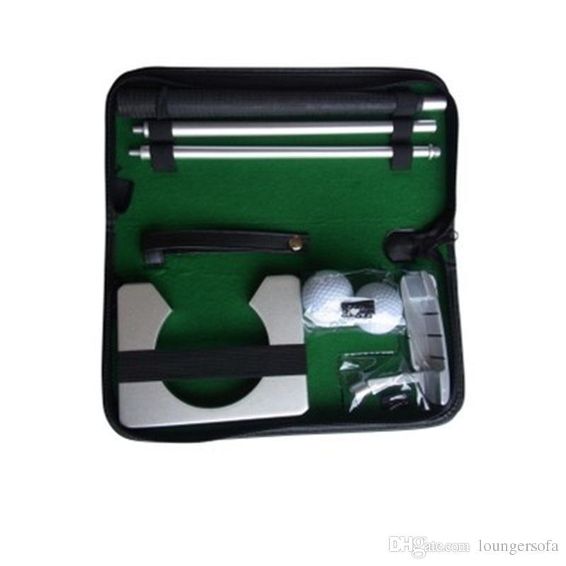 Juego de cajas de regalo de golf Varilla de aluminio Barra de empuje de tres secciones Bola de arena Resistente al desgaste Calidad deportiva Buena 50bs dd
