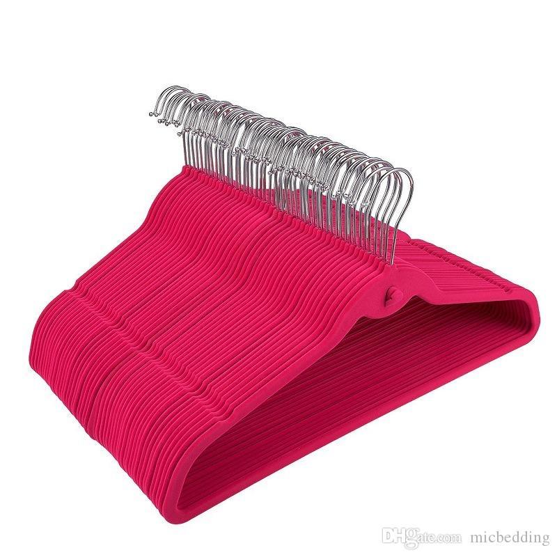 추적 검은 옷걸이 크기 44.50cm없이 옷걸이 몰려 후크 미끄럼 방지와 의류 매장 옷걸이 다기능 행