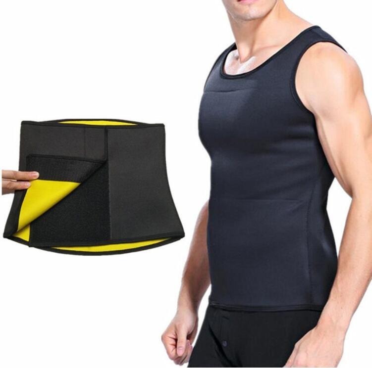 새로운 Unisize 허리 벨트 망 / Womens 뜨거운 셰이퍼 남자 압축 슬리밍 셔츠 슬리밍 바디 셰이퍼 조끼 셔츠 코르 셋