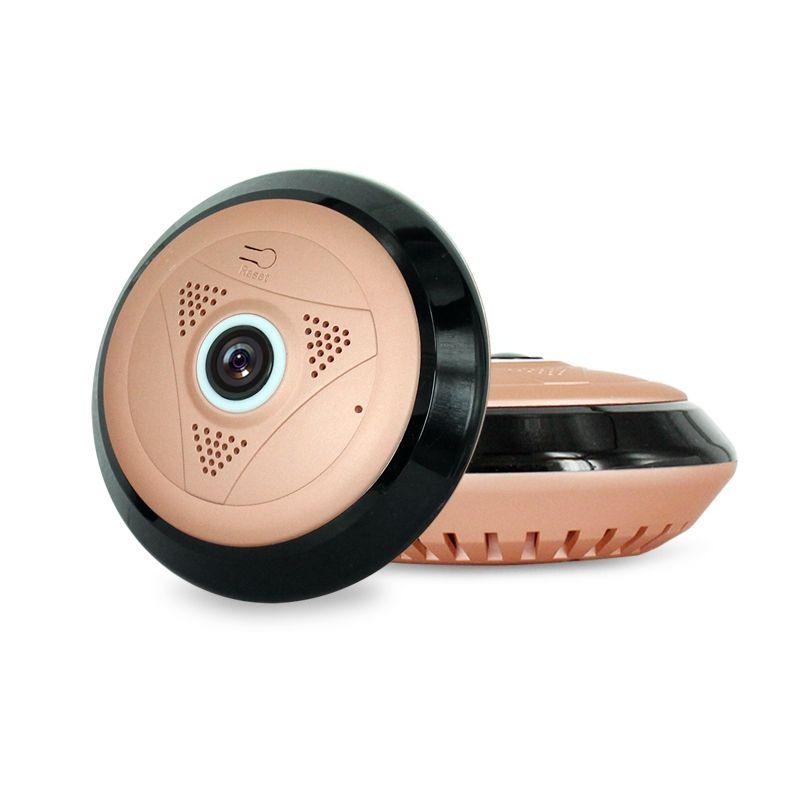 HD 960P 1.3MP IR Gece görüş mini kamera Kablosuz WiFi 360 derecelik panoramik bir IP kamera Ev Güvenlik Gözetleme CCTV Kamera EC10-I6