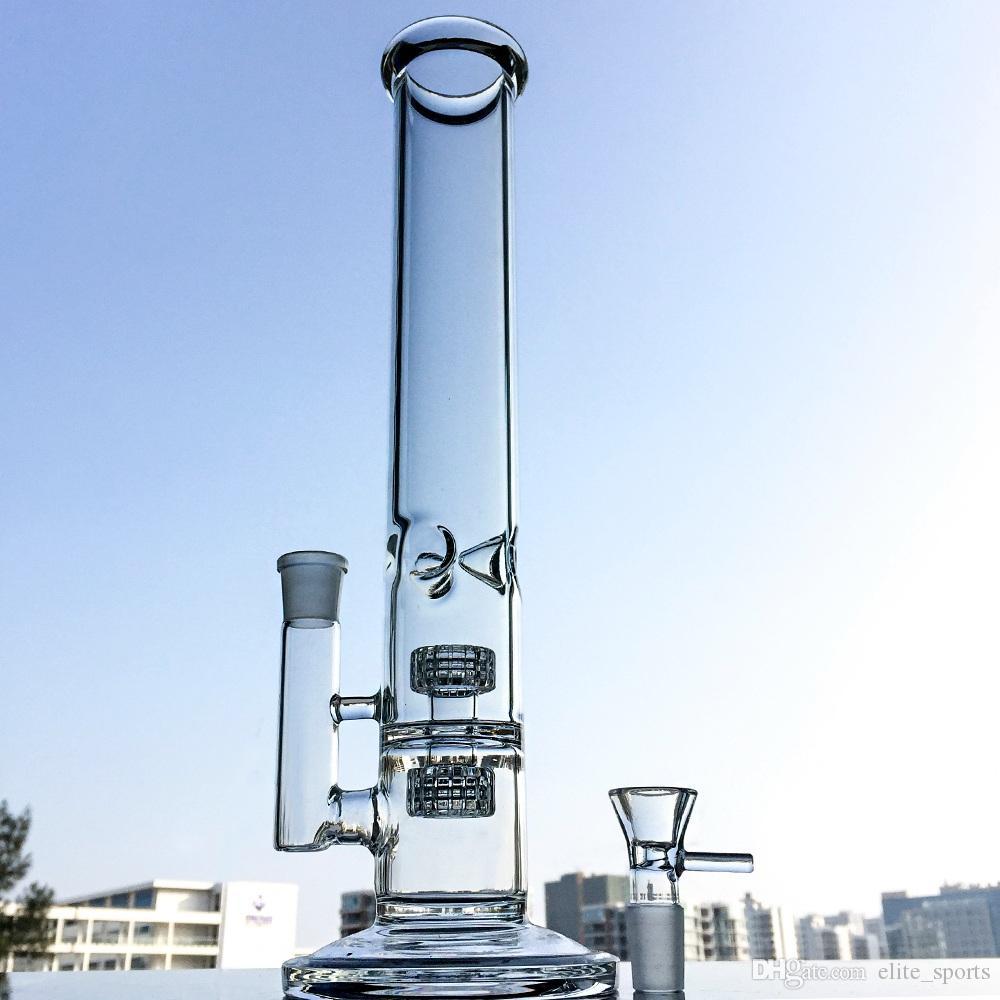 유리 기억 만 18.8mm 공동 버블 손 유리 봉 물 담뱃대 클리어 오일을 살짝 굴착 파이프 흡연 풍선 WP296