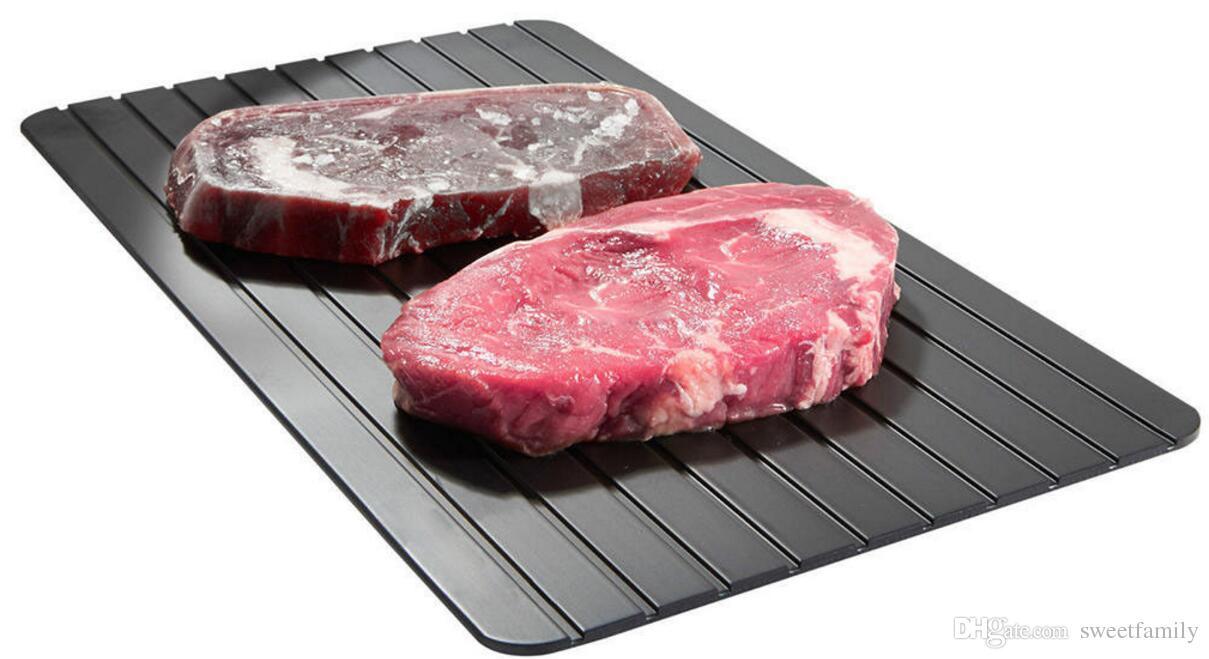 Bandeja Descongelacion Rapida Bandeja De Descongelaci/ón R/ápida Descongelar Tablero De Cocina Congelado Para Alimentos Carne Pescado Necesario Accesorios De Cocina Para El Hogar