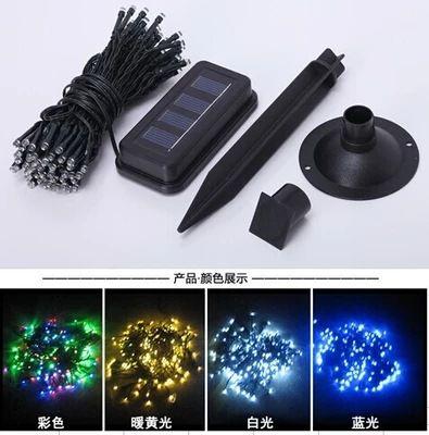 Lampes solaires 100LED, lumières de Noël solaires Festival Lights