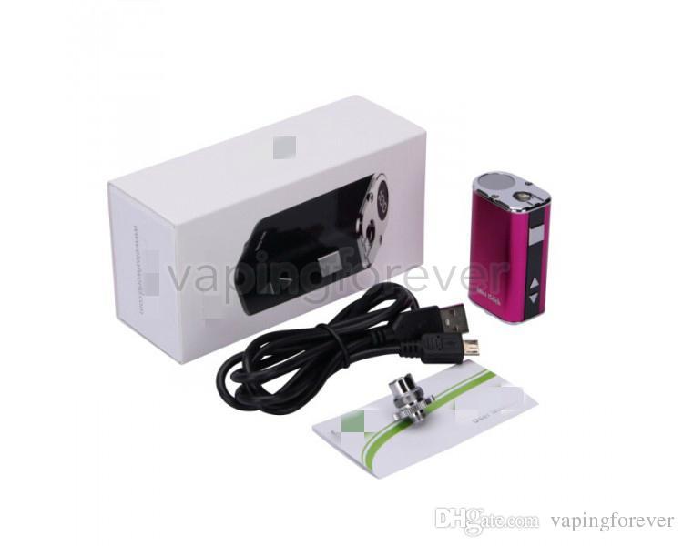 Mini 10w box Mod 1050mah батарея малый размер Портативный мини 10W электронная сигарета батареи Моды 4 цвета с USB 510 разъем для Vape картриджи