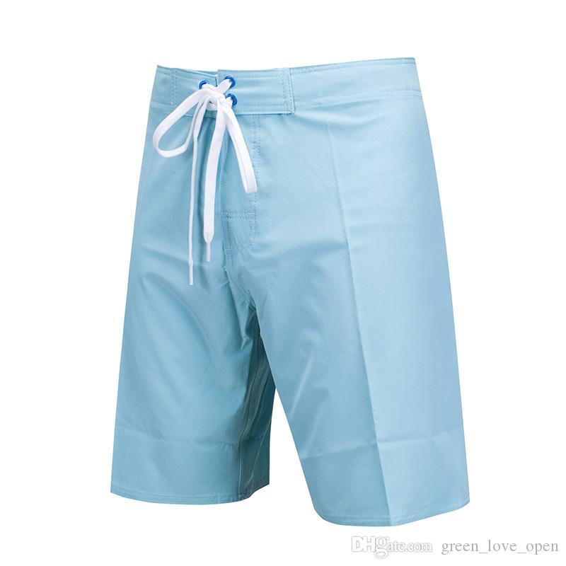 Summer Fashion Men's Boardshort Board Shorts Quick Dry Bermudas Beach Swim Short Surf Masculino Clothing Elastic
