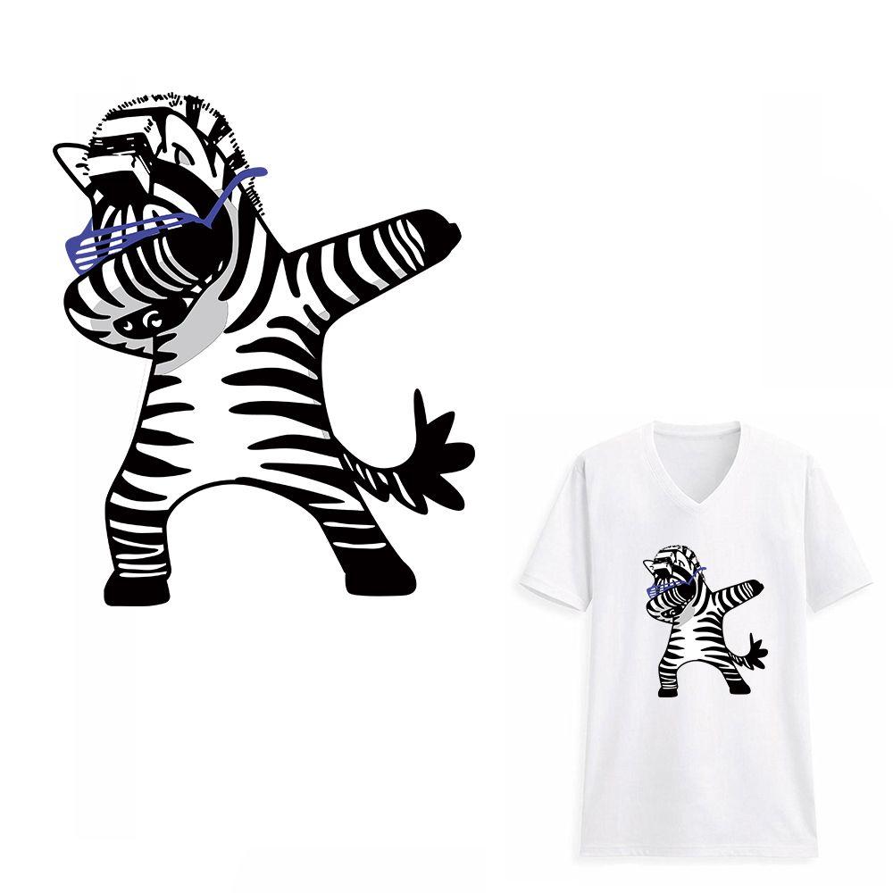 Zebra Patch Aufnäher