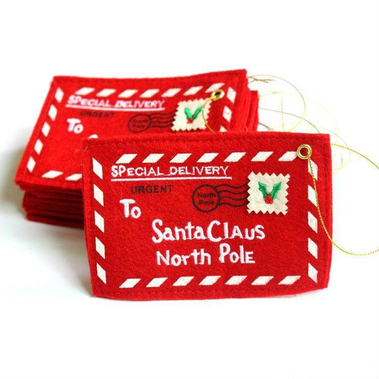 المنتجات الإبداعية زينة عيد الميلاد عيد الميلاد مغلف الحلوى أكياس هدية هدية مربع بطاقة عيد الميلاد المال حامل البطاقة