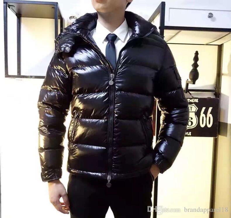 Francia clásico de la marca Hombres Mujeres Chaqueta de Down Casual maya Abrigos para hombre al aire libre vestido de plumas hombre abrigo de invierno chaquetas outwear