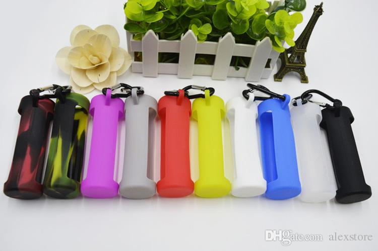 E Juice Silicone Skin Carrying Sleeve Case Soft Portable Pouch Box Display Rubber Cover for 60ml Eliquid E liquid Bottles Vape