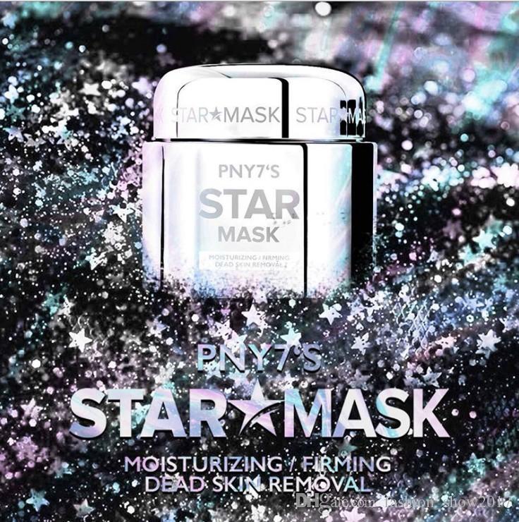 PNY7'S Yıldız Yırtılma Yüz Maskesi Derinlik Ikmal Nemlendirici Gözenek Parlayan Soyma Maskesi Cilt Bakımı Fantezi Renk Yüz Maskesi