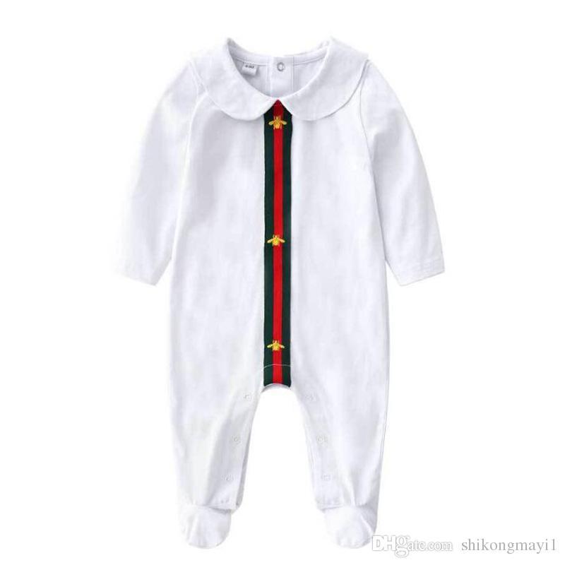 2018 новый новорожденных девочек мальчиков одежда милый мультфильм Детские ползунки высокое качество хлопка one piece комбинезон новорожденный девочка одежда