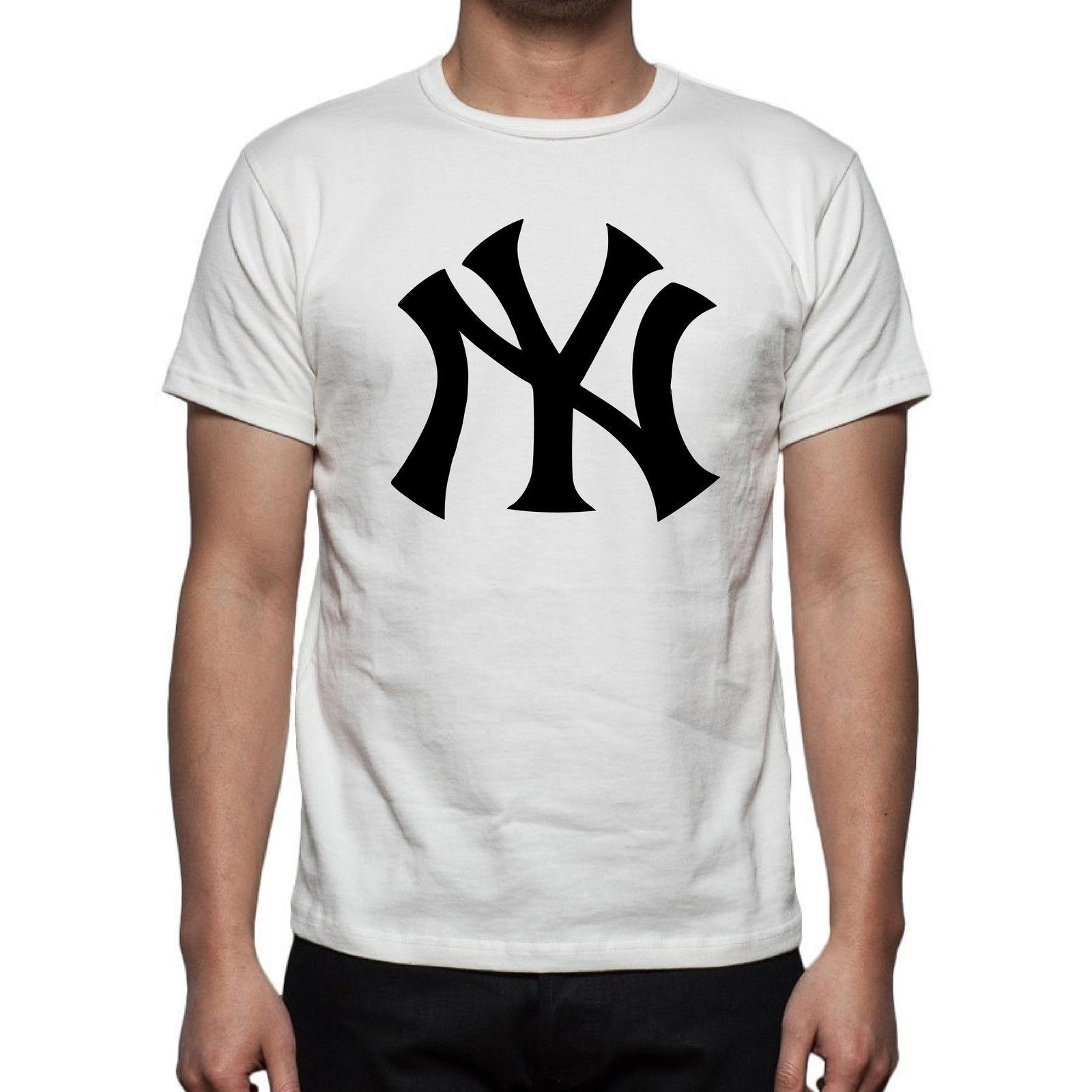 T-shirt Uomo Immagine Divertente Regalo 2016 Happiness Ny New York New Short Sleeve Round Collar Mens T Shirts Fashion 2018