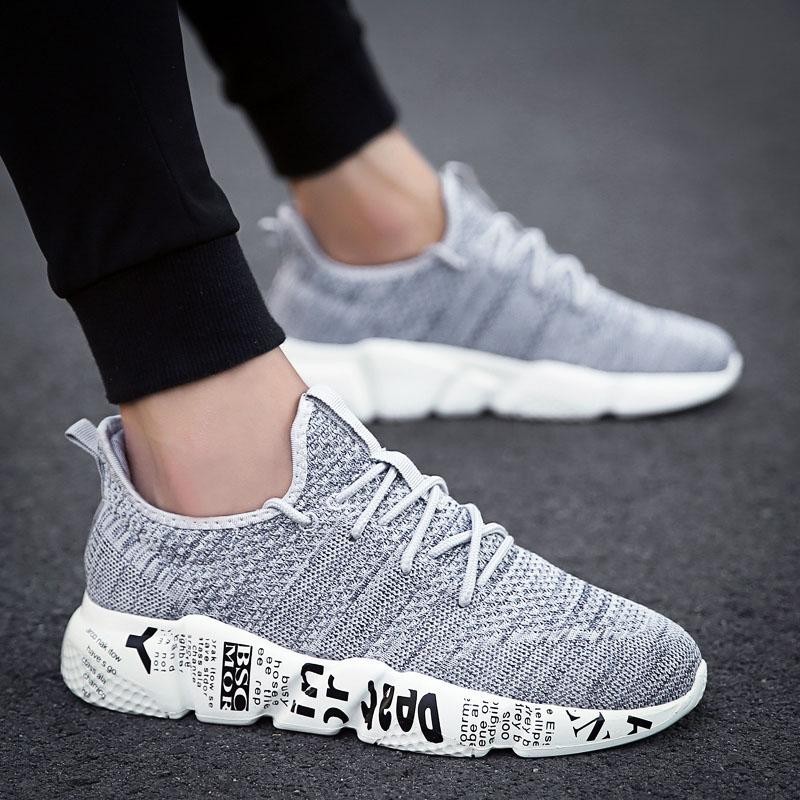 الرجال عارضة الأحذية تنفس الأزياء حذاء الرجل الأحذية تنيس masculino أحذية zapatos hombre sapatos outdoor ماركة 45 46