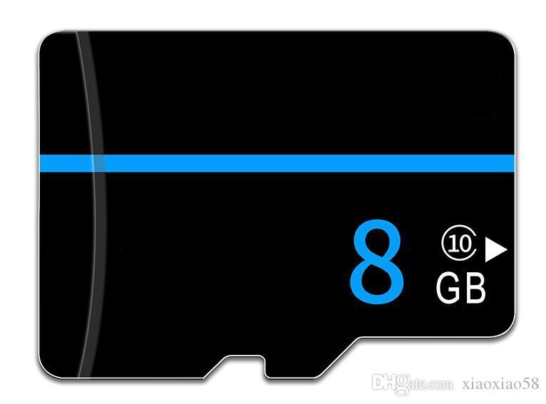 Passe H2testw cartão de memória de 8GB 8G Micro SD Cartão de memória SDHC 8 GB classe 10 U1 UHS-I V10 A1 MicroSD HC extrema Pro