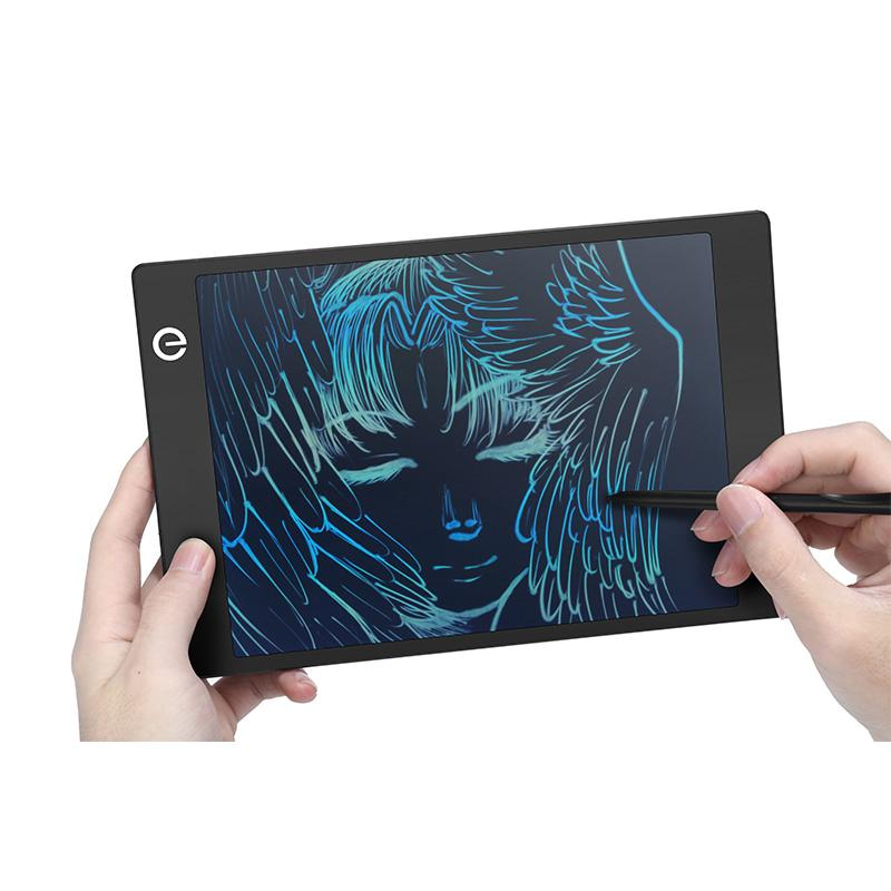 9.7 인치 컬러 LCD 그래픽 태블릿 내구성 그리기 및 쓰기 보드 디지털 전자 eWriter 어린이 성인을위한 작성