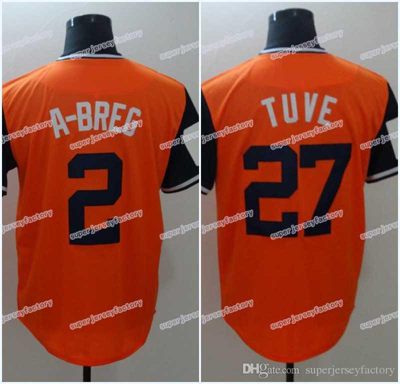 sale retailer d7f67 453a1 2019 Men 2018 Players Weekend Jersey 2 ALEX BREGMAN A BREG 27 Jose Altuve  Tuve 4 George Springer Baseball Jerseys From Superjerseyfactory, $17.08 |  ...