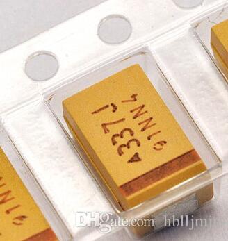 10PCS 7343-D 6.3V 330UF D caja SMD tantalio capacitor
