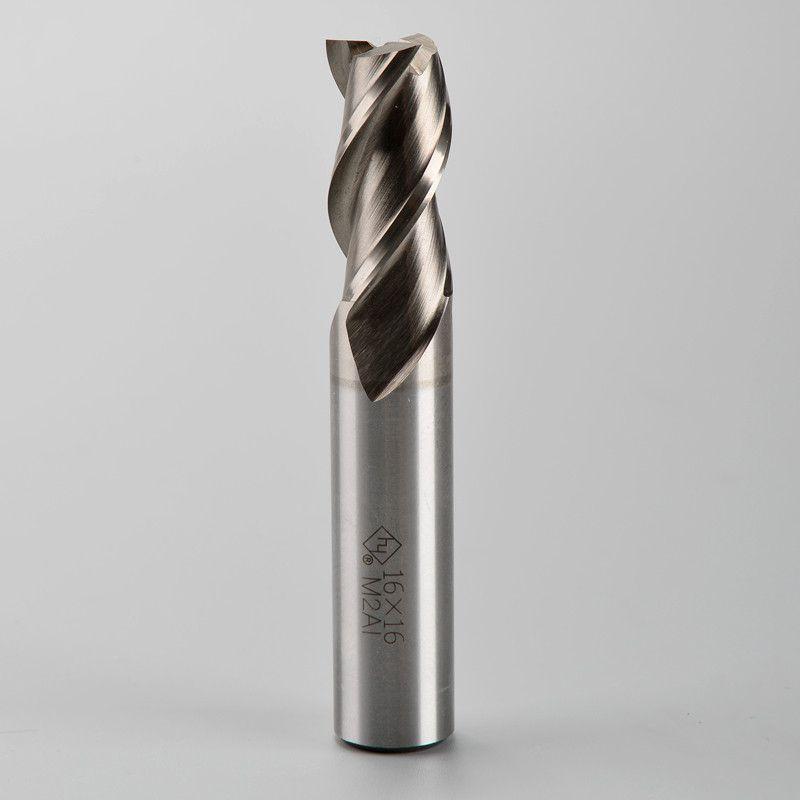 M2AL 알루미늄 밀링 커터 HSS 커터 D6.0-20.0mm 용 3 개의 플루트 rounghing 무료 배송