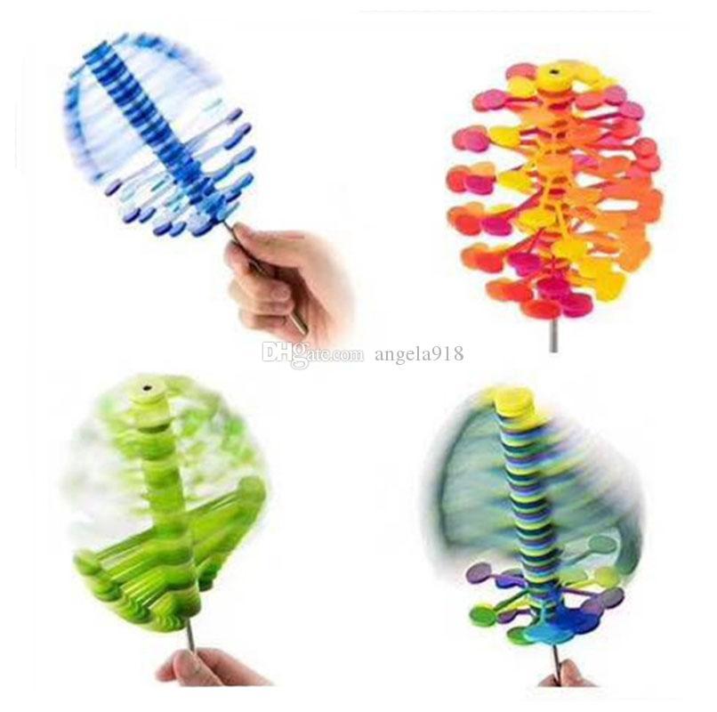 Lollipop Stress Relief Toy Office decompression toy Lollipopter Fibonacci Sequence Creative Ro-lollipop kids toys 6 COLORS C5236