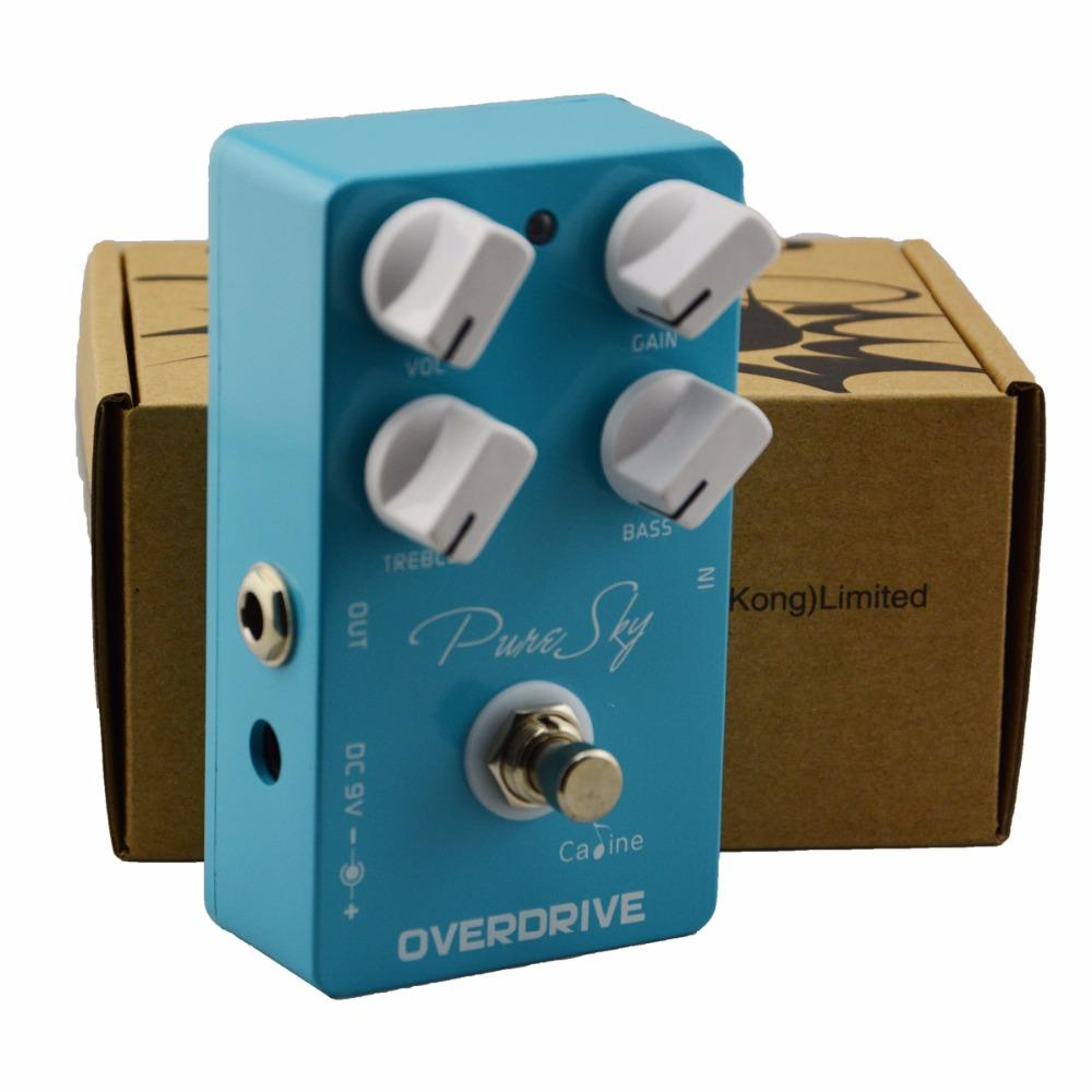 Caline CP-12 Pure Sky OD Electric Guitar Pedals High True Bypass Guitar Pedal Effect Pedal CP12 Highly Pure and Clean Overdrive